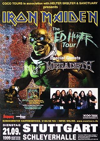 Leonatica Iron Maiden The Ed Hunter Tour 1999 Stuttgart Amazon De