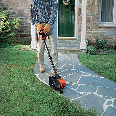 BLACK+DECKER 2-in-1 String Trimmer / Edger and Trencher, 12 -Amp (LE760FF)