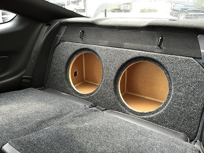 "char//bla,V3,RearF Mustang 2-10/"" Subwoofer Box Sub Speaker Box ZEnclosures 2015"
