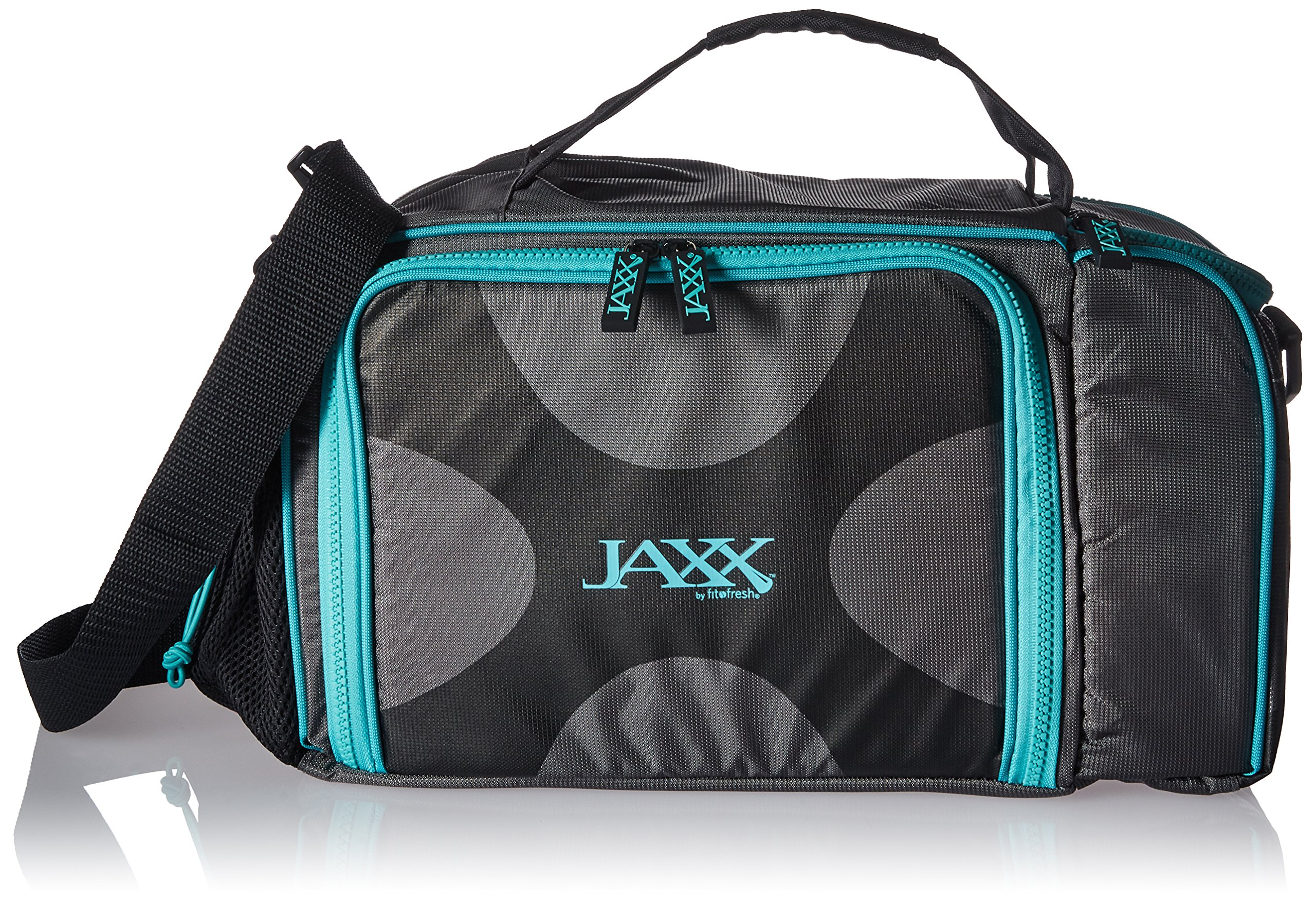 Fit & Fresh Jaxx FitPak XL Meal Prep Bag with Portion Control Containers