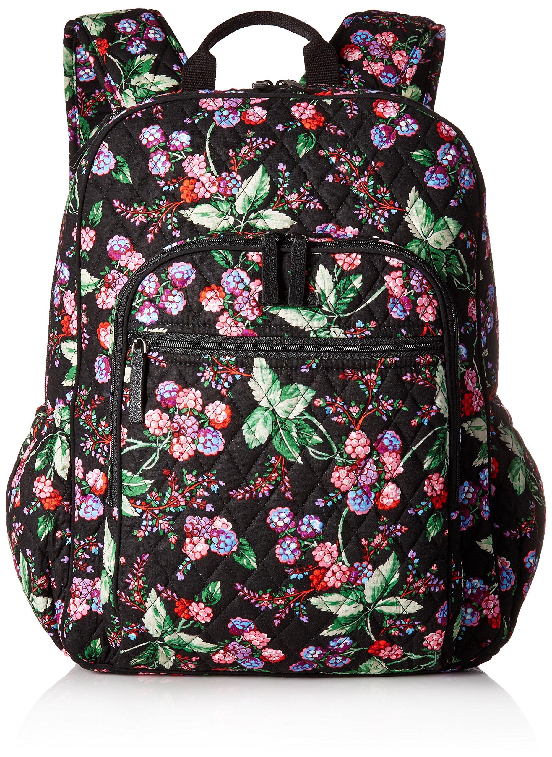 Vera Bradley Women's Campus Tech Backpack, Winter Berry by Vera Bradley