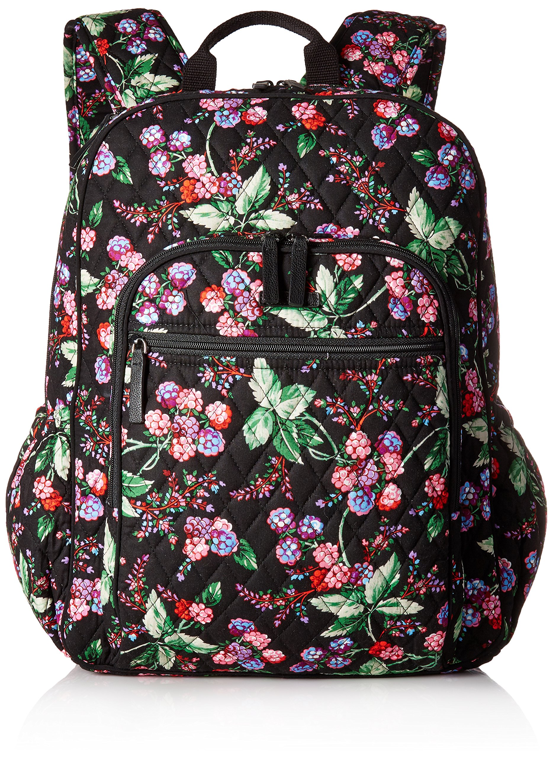 Vera Bradley Women's Campus Tech Backpack-Signature, Winter Berry by Vera Bradley (Image #1)
