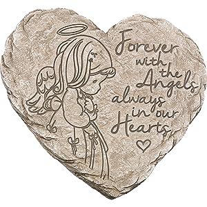 Precious Moments Angel Memorial Garden Stone
