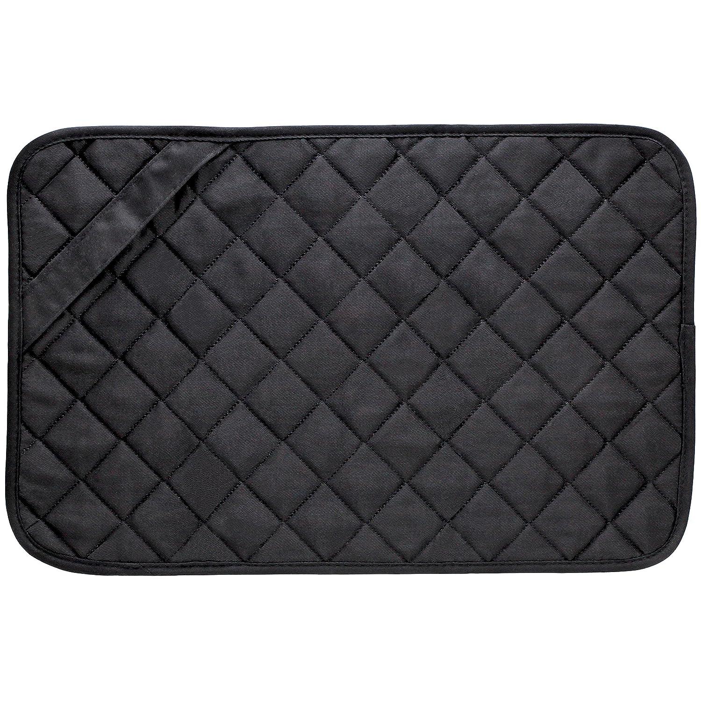 Envision Home 422300 Trivet Mat, 11 by 17-Inch, Black