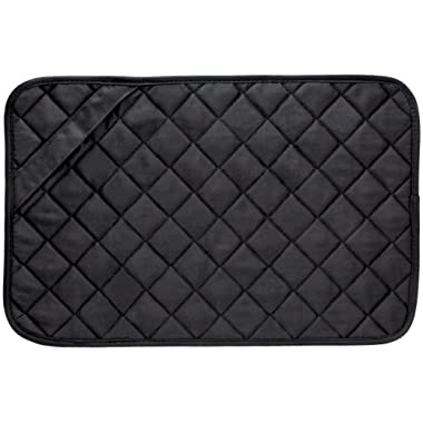 Envision Home 422300 Trivet Mat, 11 by 17-Inch, Black