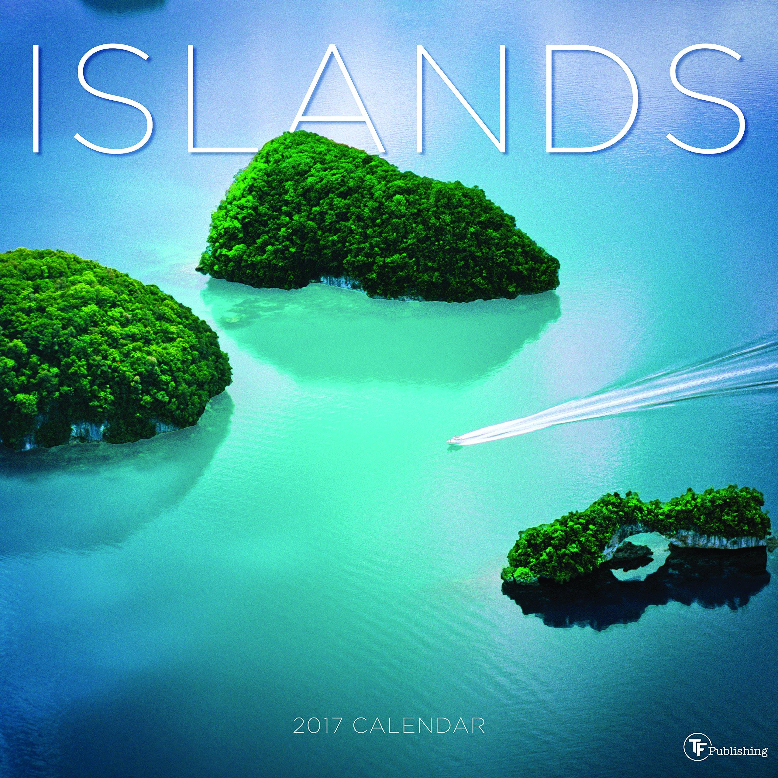 Download 2017 Islands Wall Calendar pdf