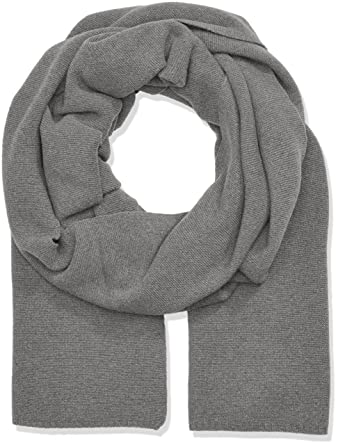 Stefanel Women s SCIARPA Links Scarf, Grey (1360 Grigio), One Size ... b3e94724a22