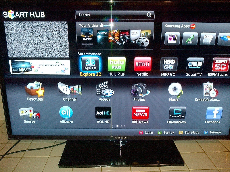 Amazon.com: Samsung 1080P 120 Hz 3d led HDTV (Negro), Plateado), UN40D6400:  Electronics