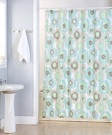Kashi Home Robin Polyester Canvas Shower Curtain
