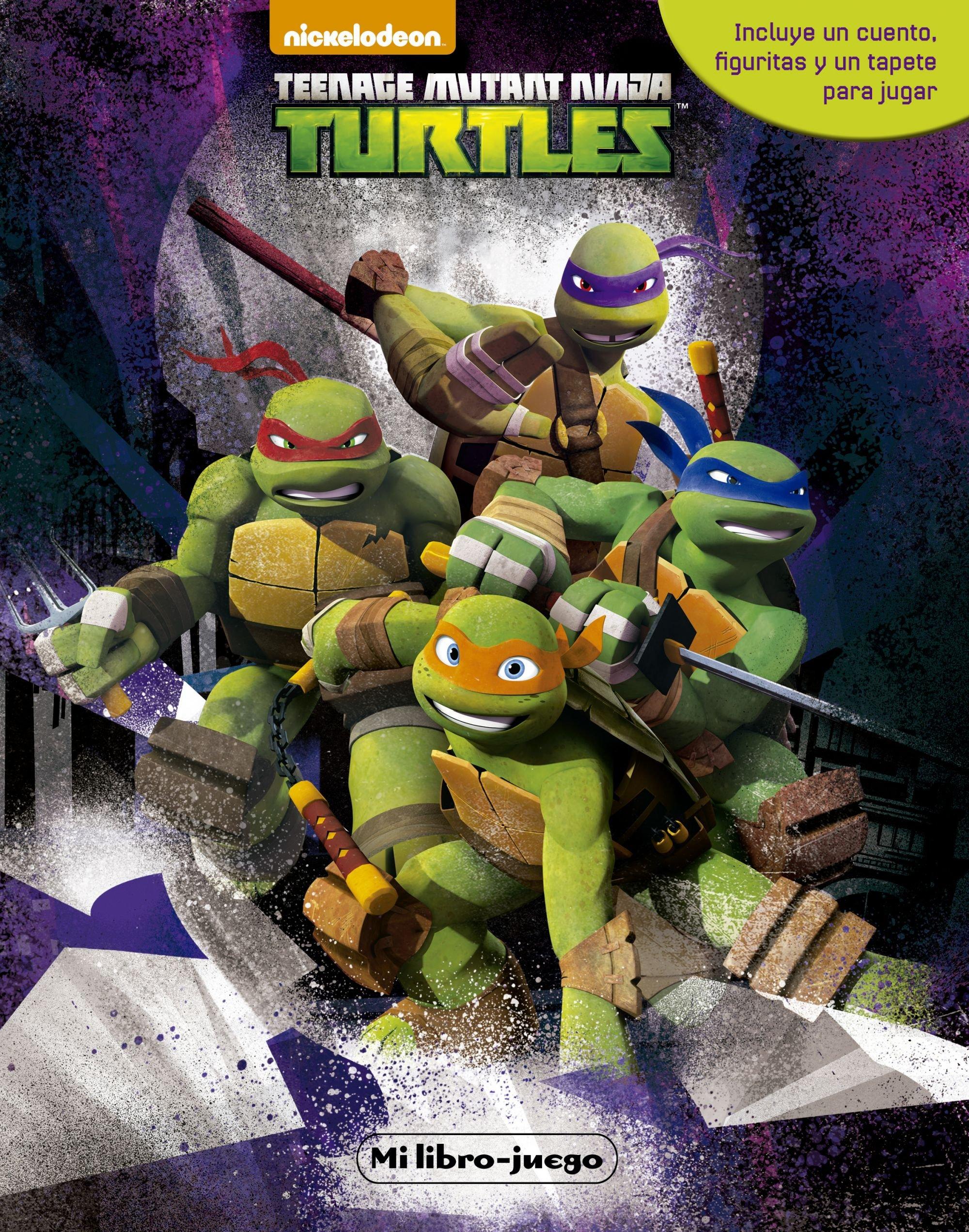 Las Tortugas Ninja. Mi libro-juego: Amazon.es: Las Tortugas ...