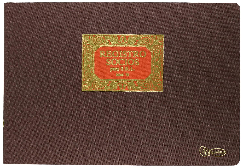 Miquel Rius 8422593050767 Libro Registro Soci