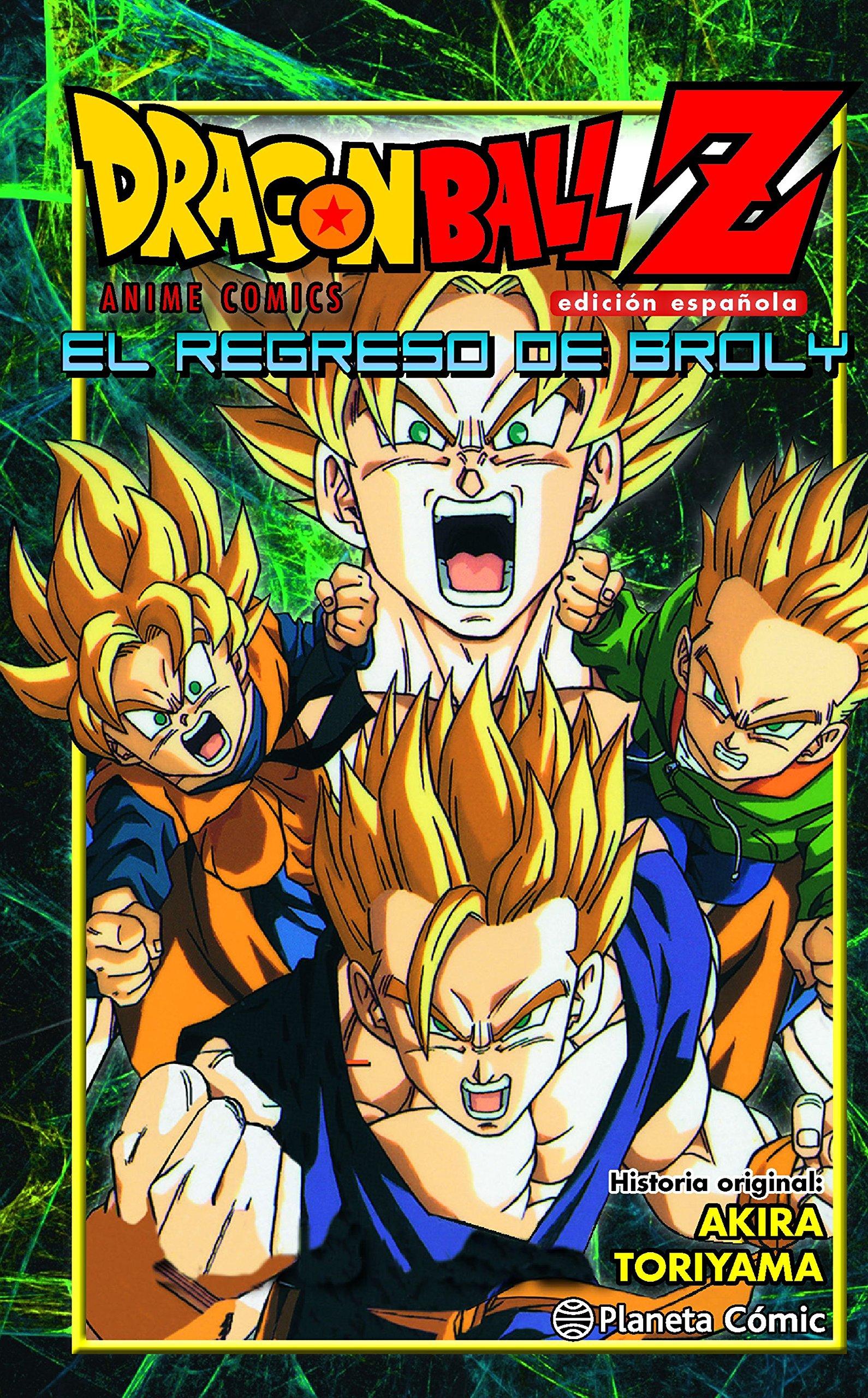 Dragon Ball Z El Regreso De Broly Manga Shonen Amazon Es Toriyama Akira Daruma Libros