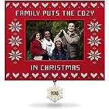 Hallmark Keepsake Christmas Ornament 2018 Year Dated, Cozy Family Christmas Picture Frame, Photo Frame