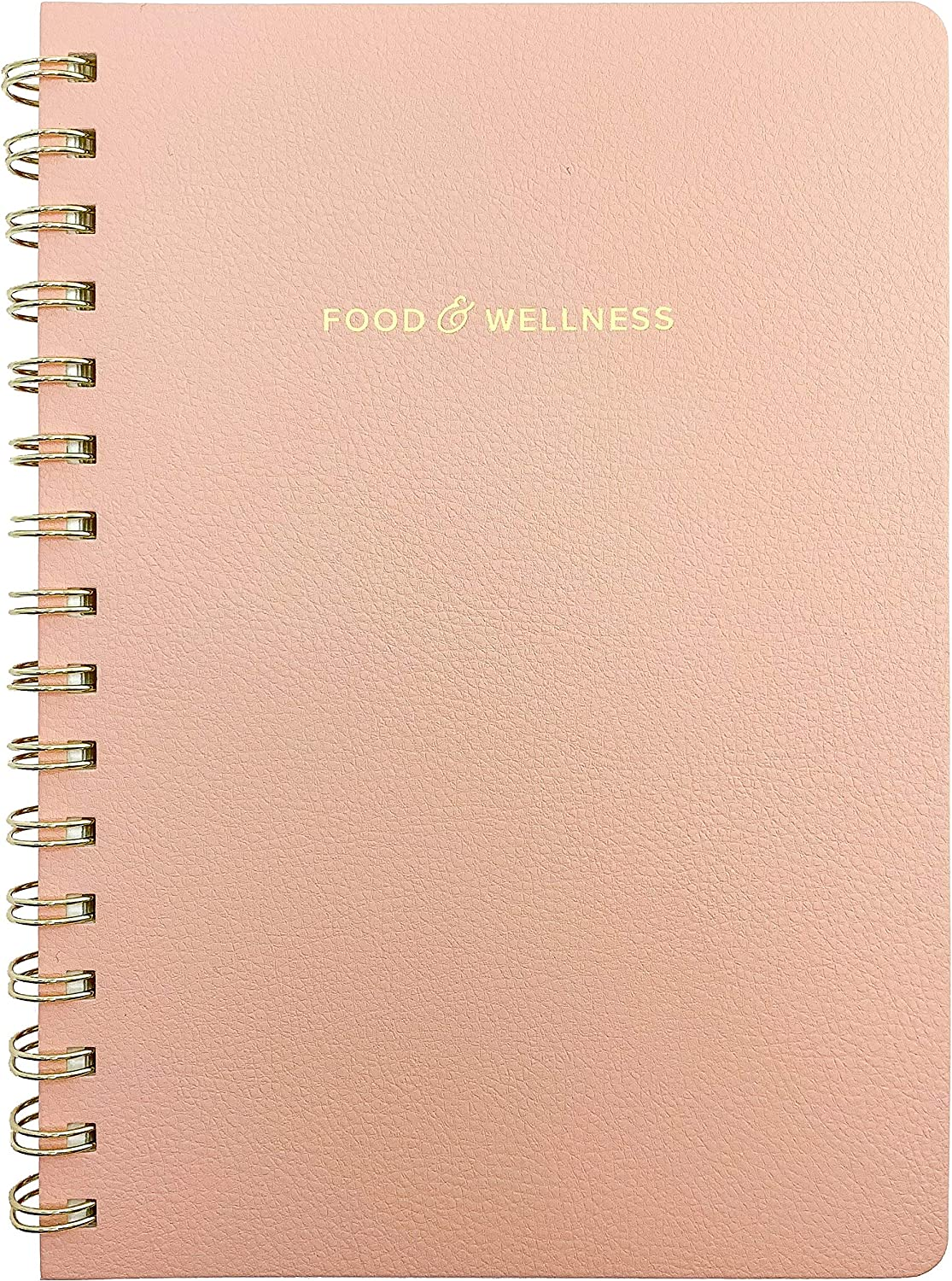 Food and Exercise Journal for Women. Track Meals, Nutrition and Weight Loss - 90 days (Pink)