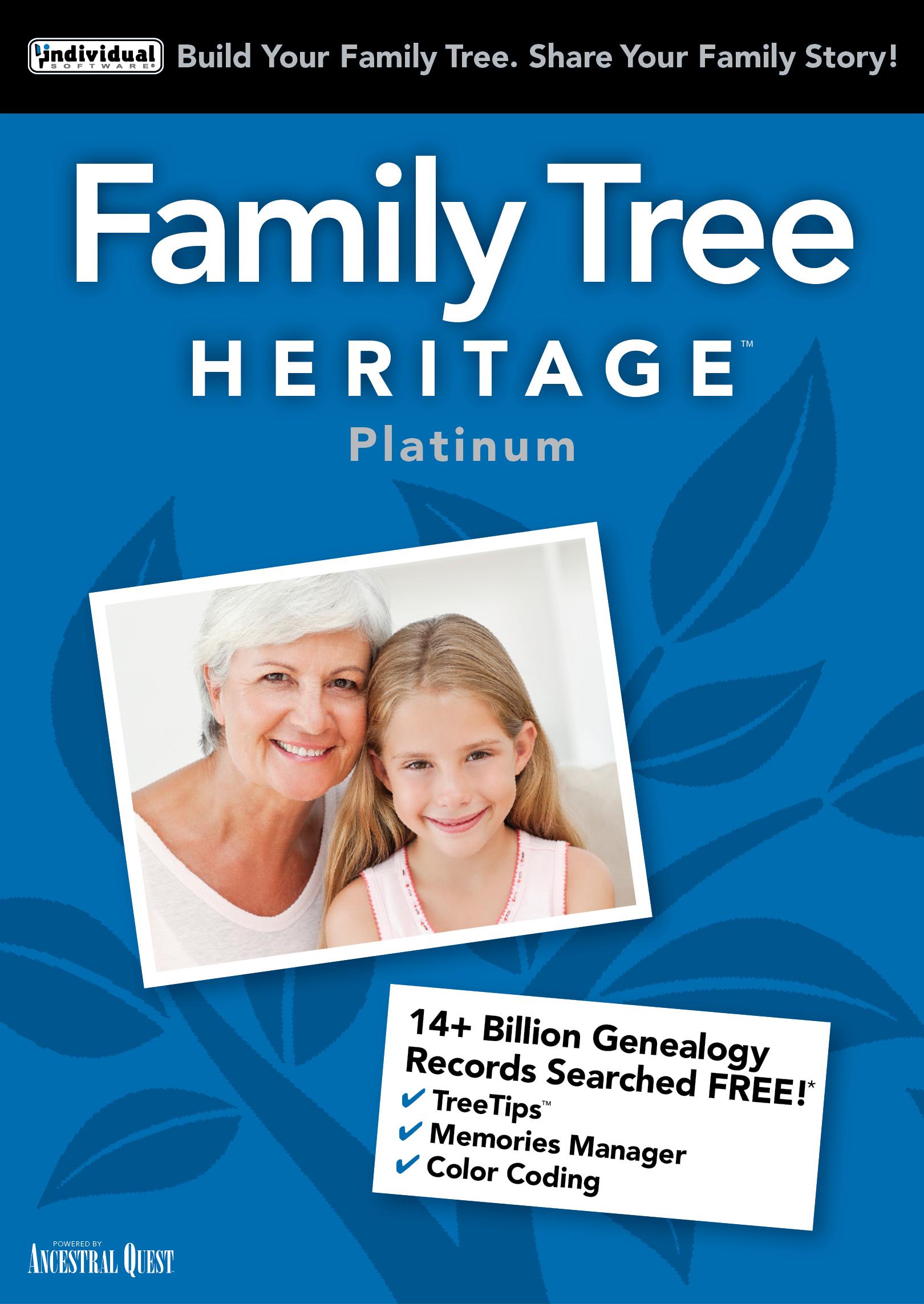 Genealogy Images History (Family Tree Heritage Platinum 15 - Mac [Download])