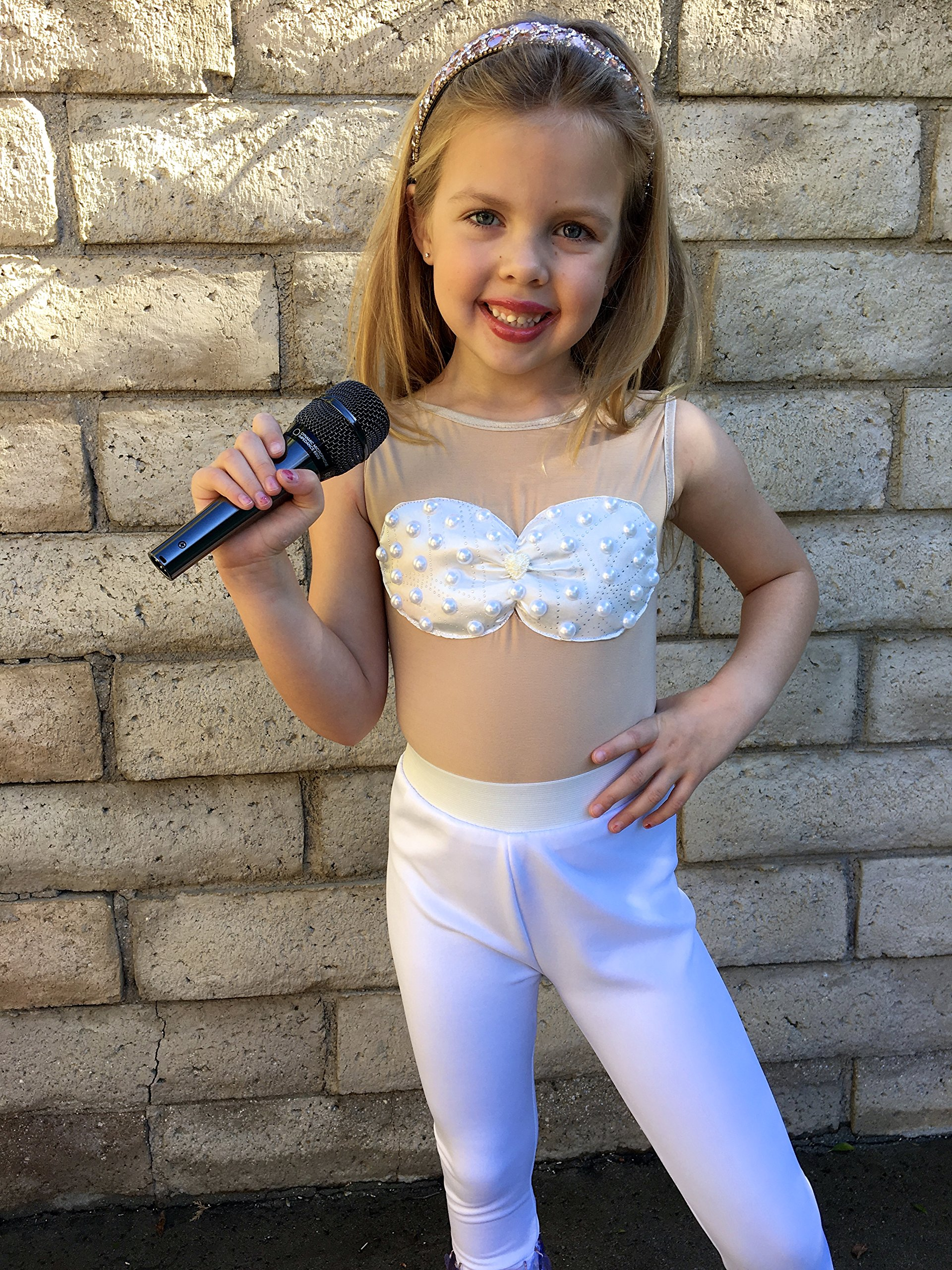 Selena Costume Girls size White outfit