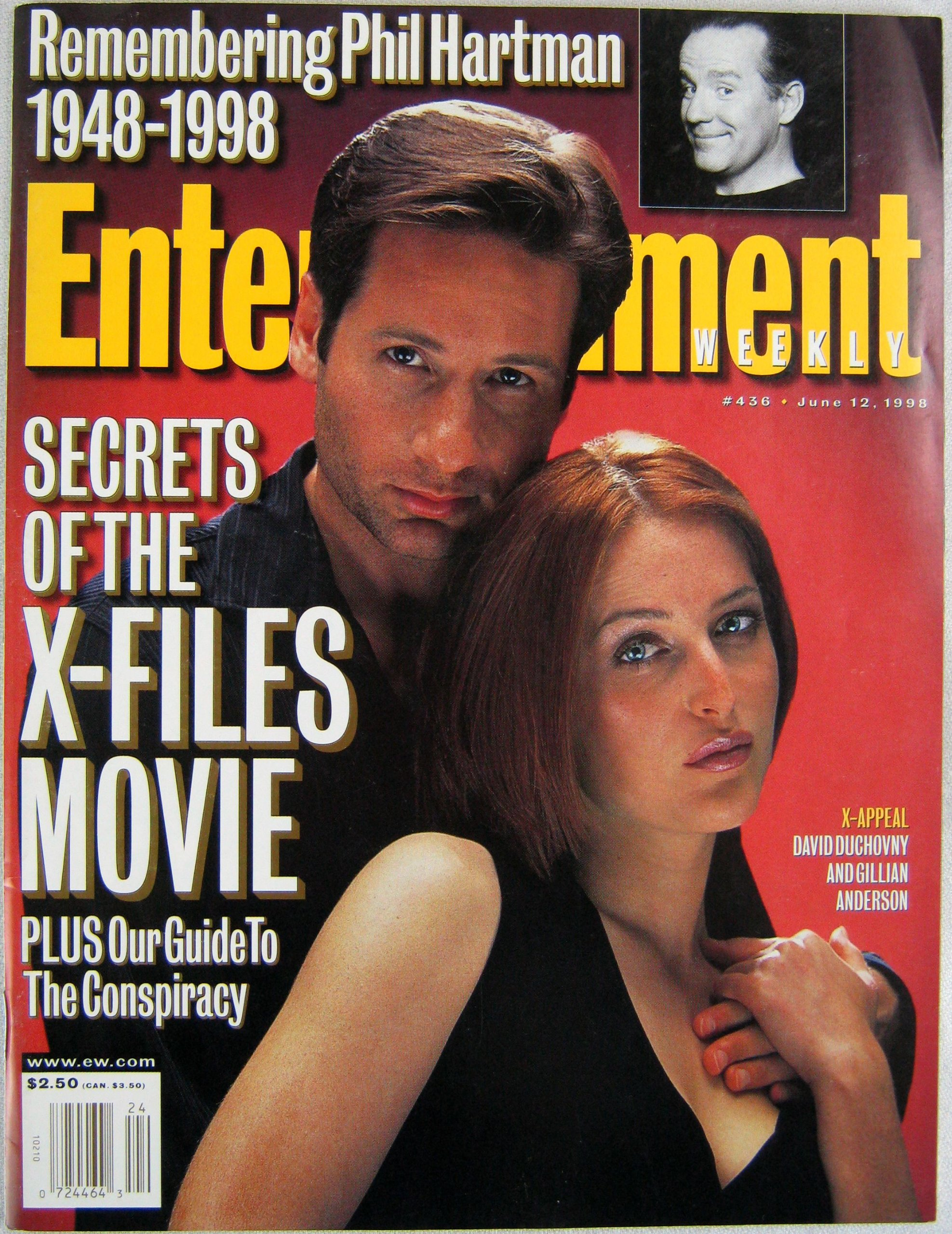 Entertainment Weekly June 12 1998 Secrets Of The X Files Movie Remembering Phil Hartman Multiple Authors Amazon Com Books