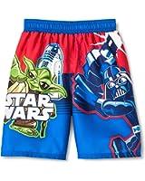 Star Wars Little Boys' Swim Trunks in Blue