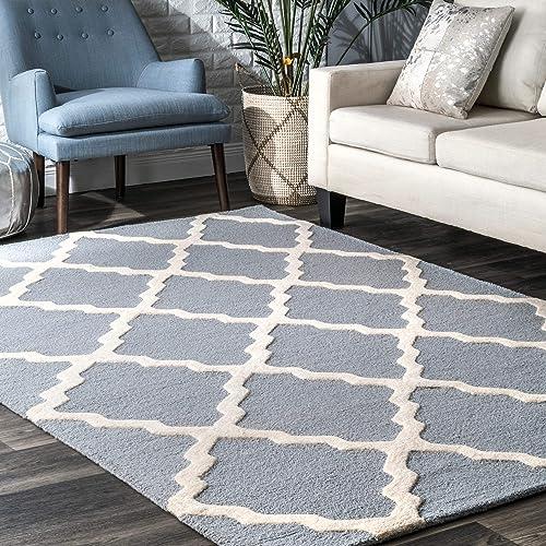 nuLOOM Marrakech Trellis Wool Rug