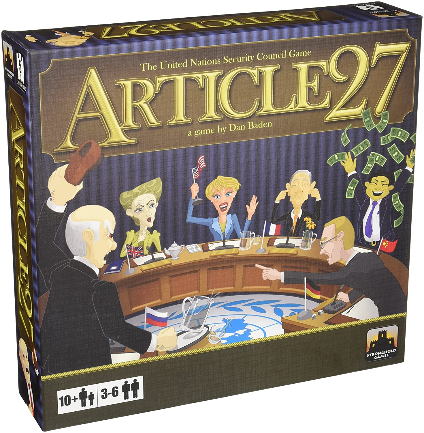 Stronghold Games 2005 - Article 27  The UN Security Council Game Brettspiele