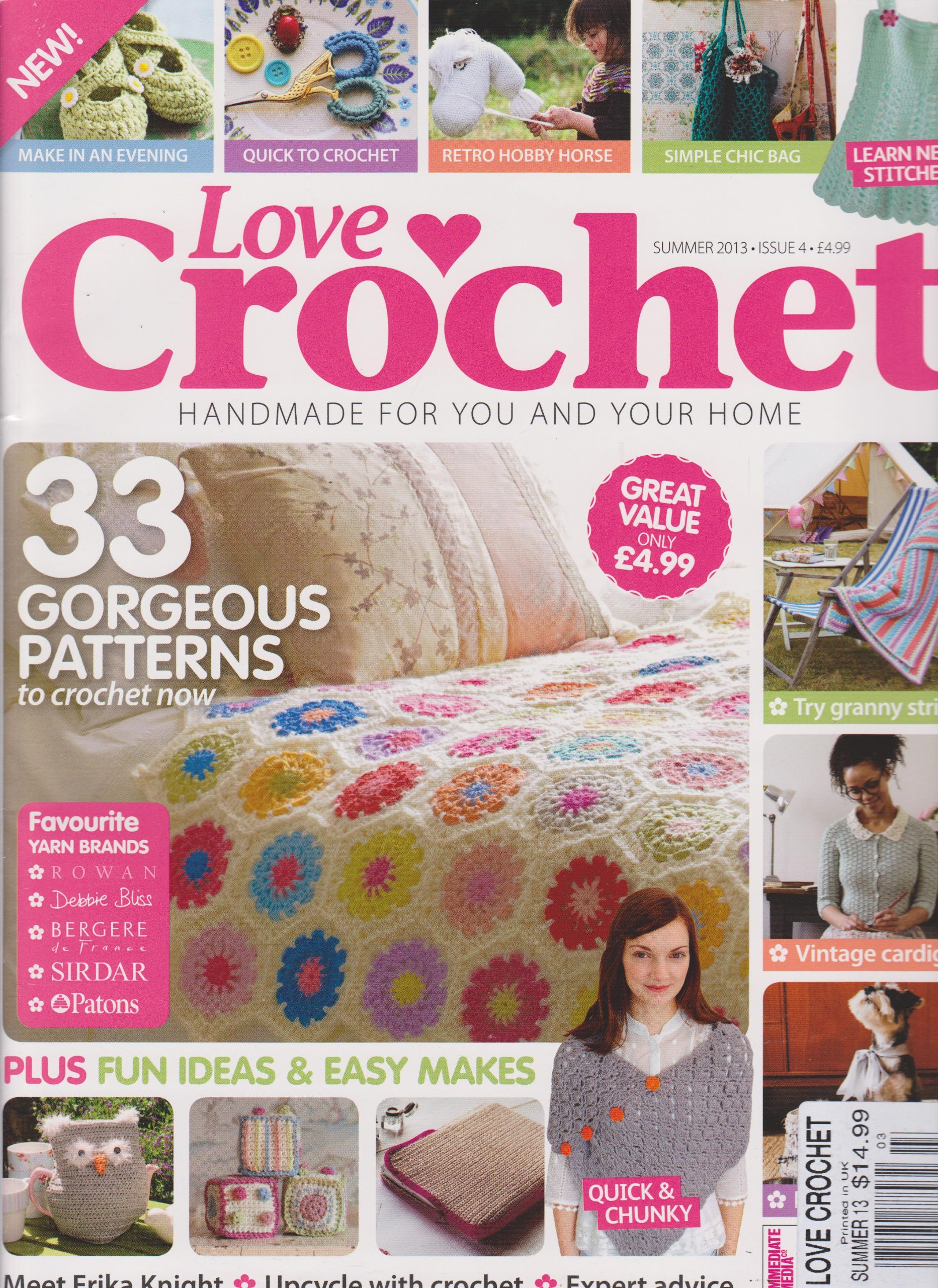 Love Crochet Magazine Summer 2013 Amazoncom Books
