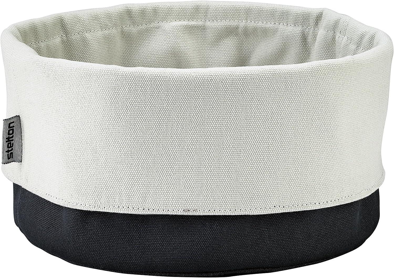 Stelton 1322 - Bolso de pan, negro / arena, 23 x 23 x 21 cm ...