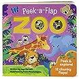 Zoo: Chunky Peek a Flap Board Book