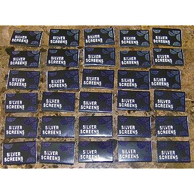 Lot de 30150en acier inoxydable Argent Vaporisateur Chillum Tabac fumer Pipe écrans 2cm 3/10,2cm