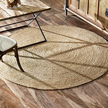 A1HAS1wV0qL._SY355_ 4 ft round rugs