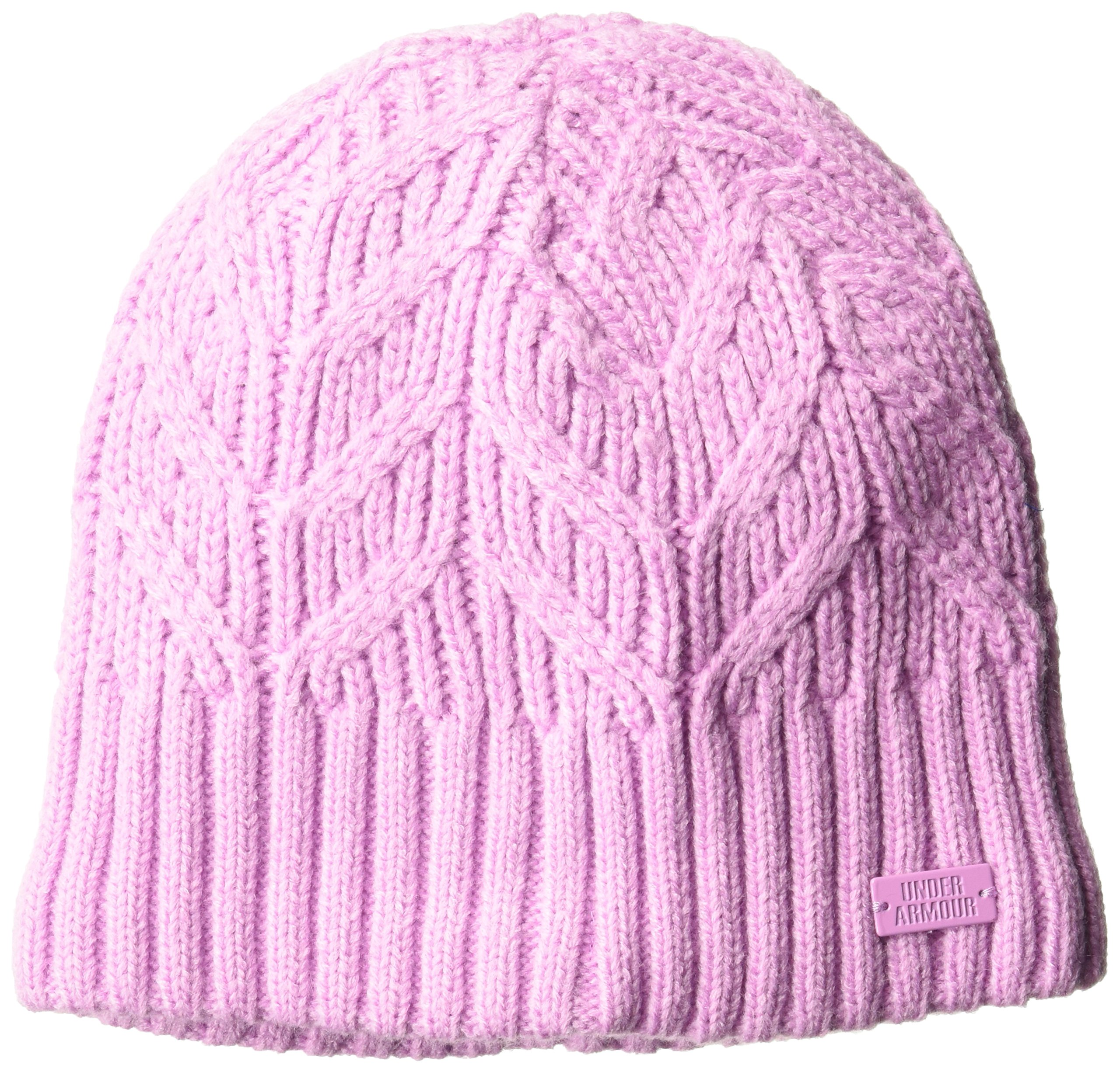 Under Armour Women's Around Town Beanie, (924)/Icelandic Rose, One Size Fits All by Under Armour