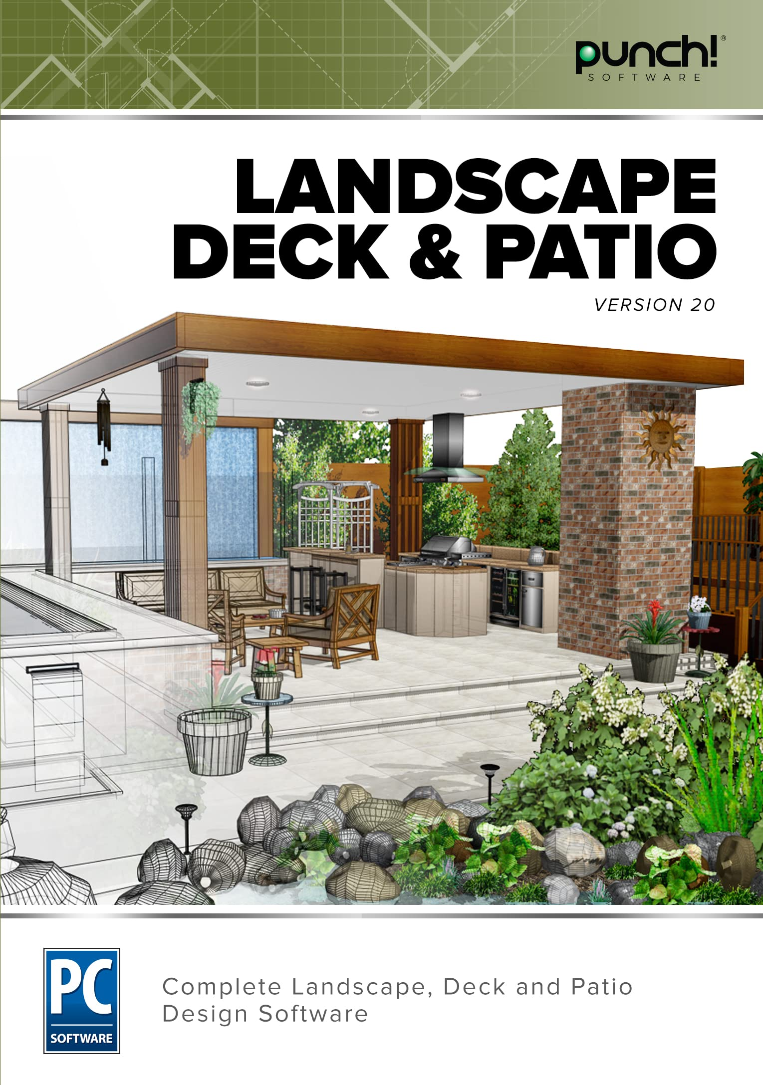 Amazon Com Punch Landscape Deck Patio V20 Download Software