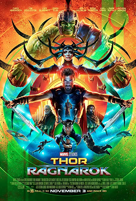 Image result for thor ragnarok movie poster