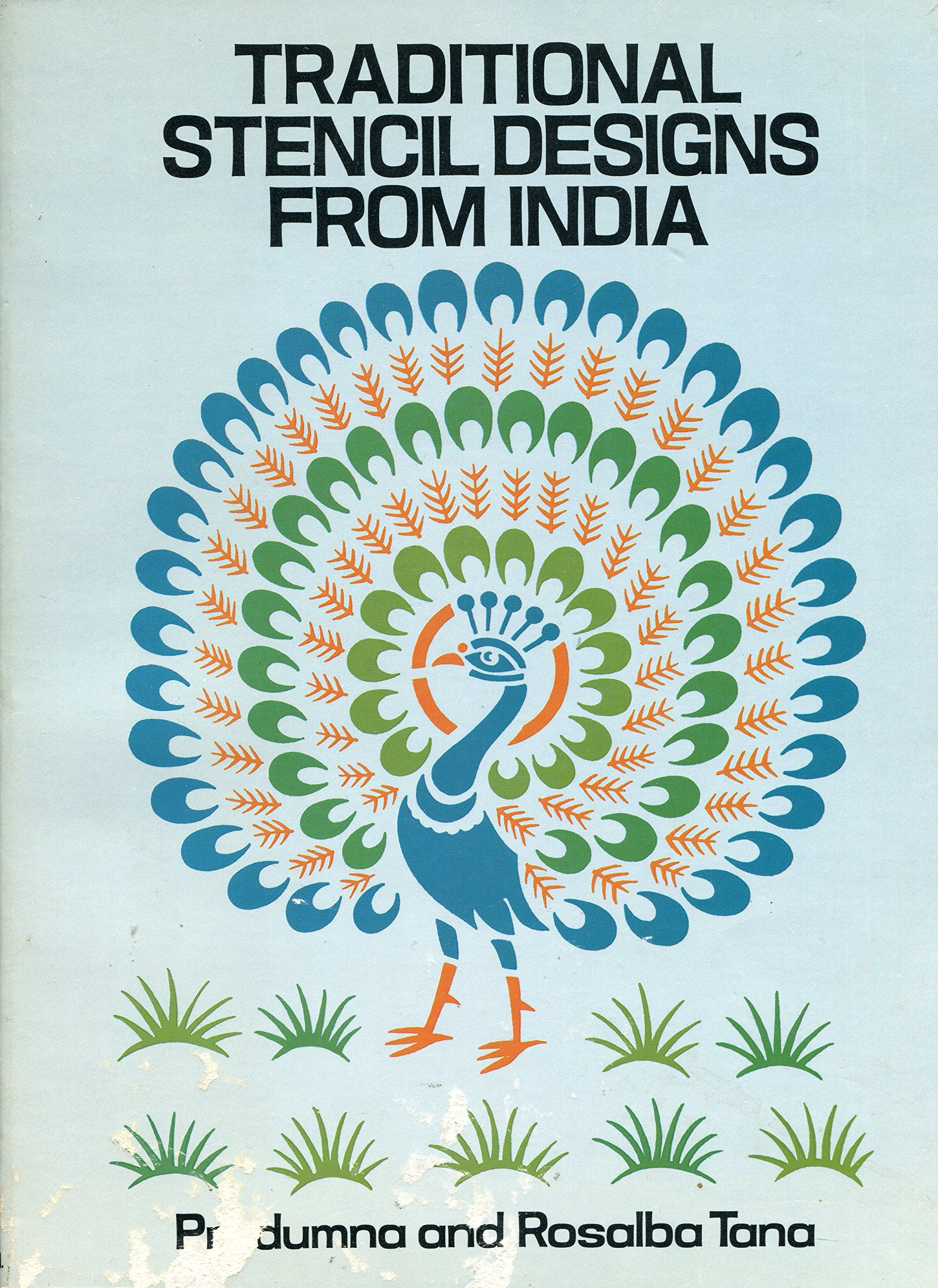 Traditional Stencil Designs from India (Dover Pictorial Archive Series)