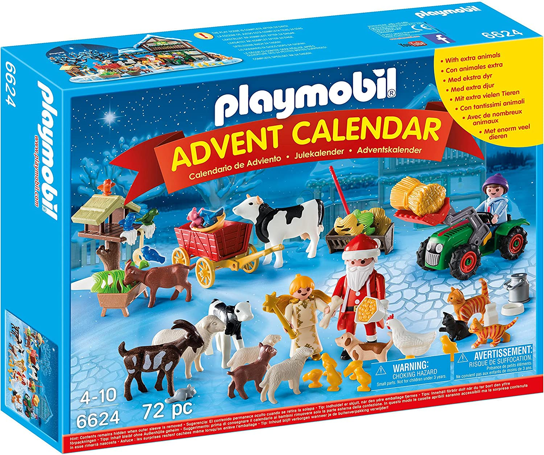 PLAYMOBIL Playmobil-6624 Calendario de Adviento clásico, Color ...