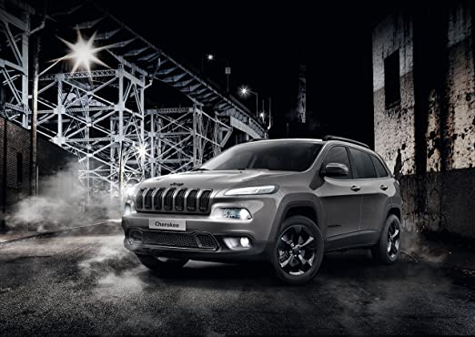 Amazon Com Jeep Cherokee Night Eagle Limited Edition 2016 Car Print On 10 Mil Archival Satin Paper Gray Front Side Static View 24 X36 Posters Prints
