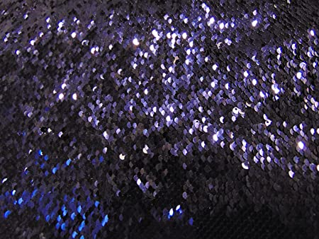 """Matte Silver on Shiny Silver  Little Sequins Roll Over Mirage 2-Way Stretch 52/"""""""