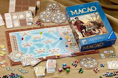 Ravensburger 26913 Macao - Juego de Mesa histórico (Contenido en alemán) [Importado de Alemania]: Amazon.es: Juguetes y juegos