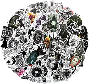 100PCS Gothic Retro Skull Sticker Vinyls Decals for Laptop,Cars,Motorcycle,Bicycle,Skateboard Luggage,Bumper Stickers Hippie Decals Bomb Waterproof(Gothic)