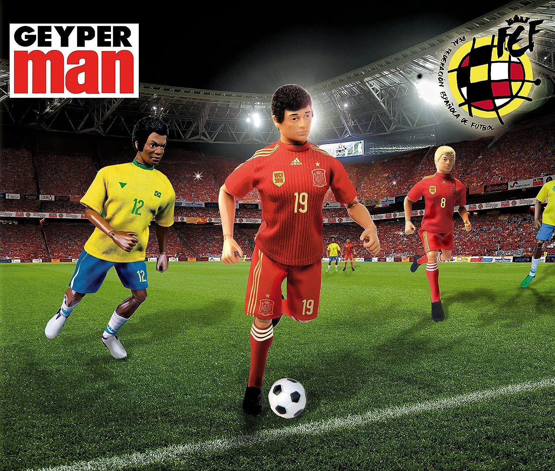 Geyperman Jugador Selección Española de Fútbol. Producto oficial ...