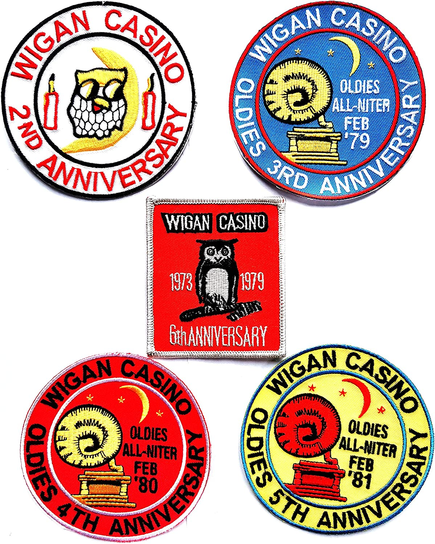 5er Set Wigan Casino Classics Jubil/äums-Edition