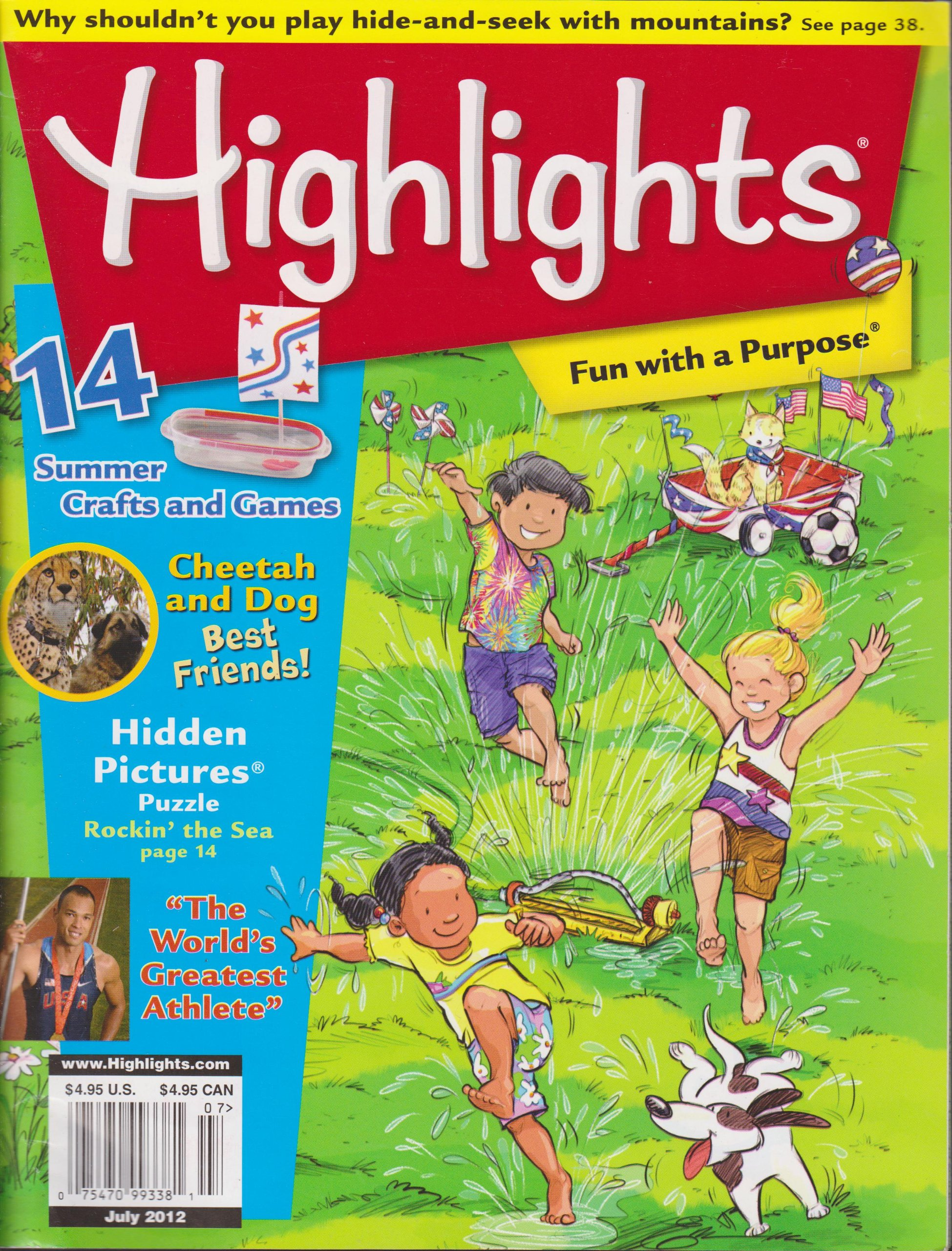 Read Online Highlights Magazine (July 2012) ebook