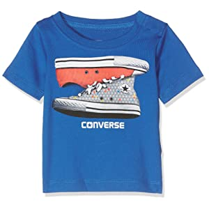 Converse Sneaker Stack Tee, T-Shirt Mixte Bébé