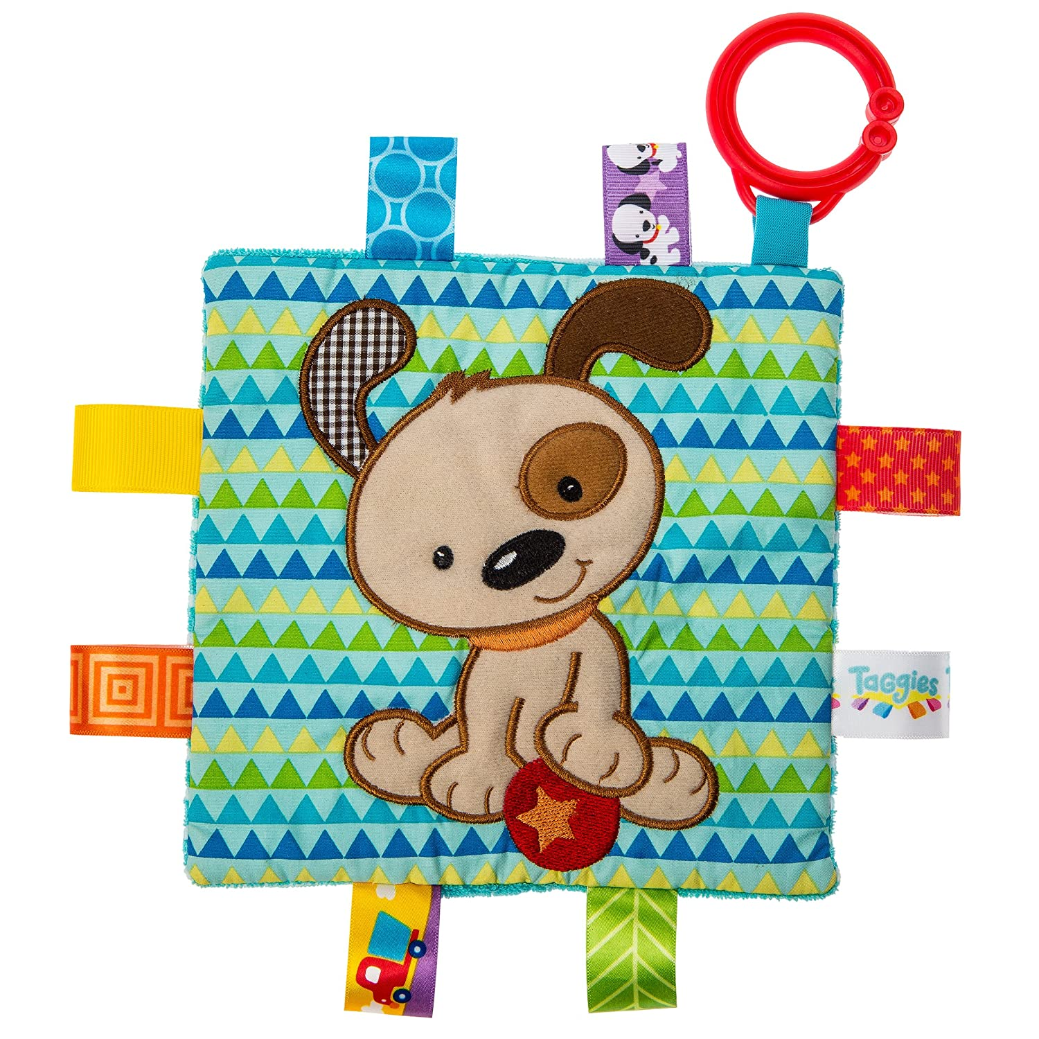 Taggies Crinkle Me Baby Toy, Brother Puppy 40173