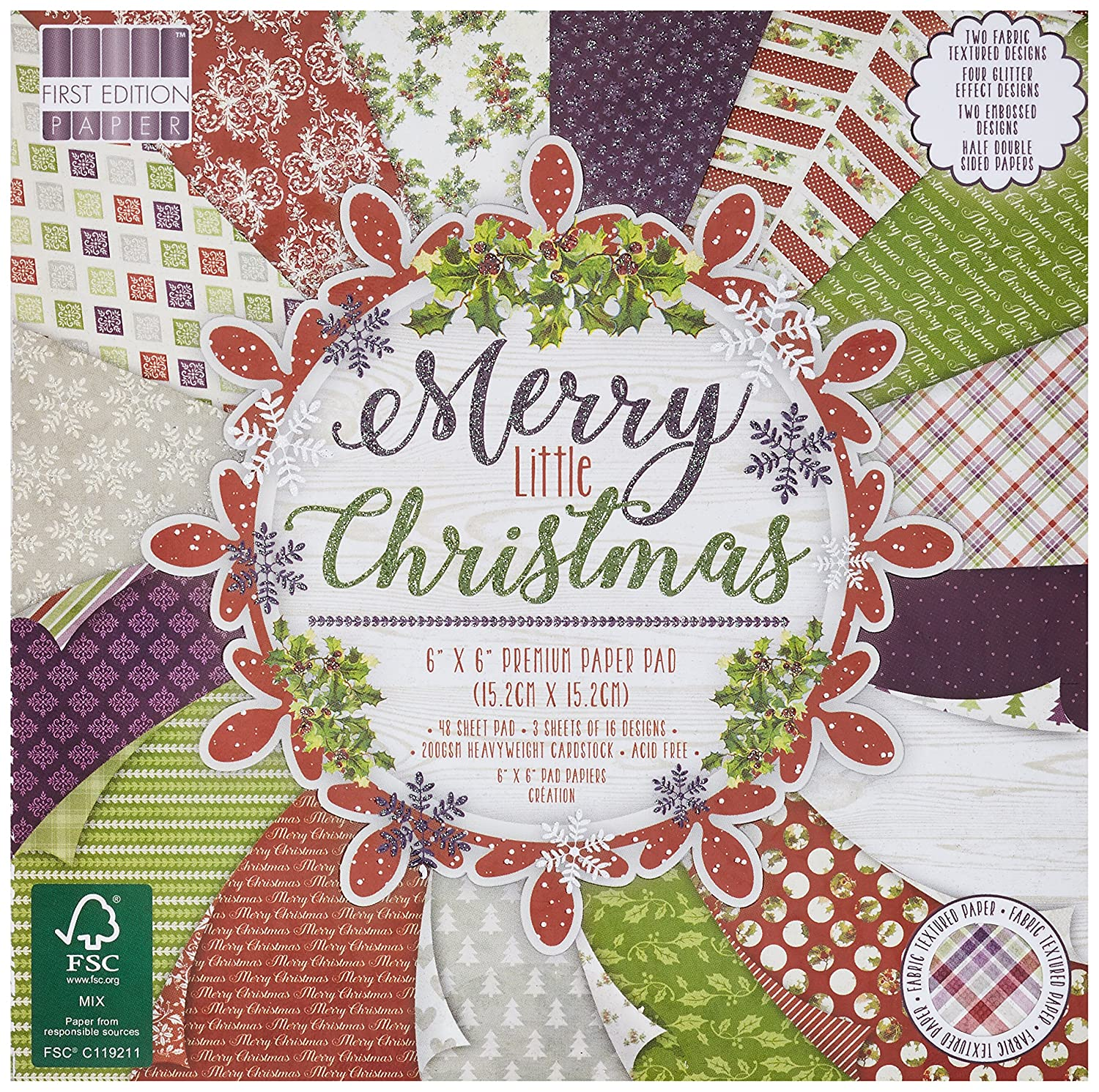 First Edition Weihnachten – Merry Little Christmas Premium Papier