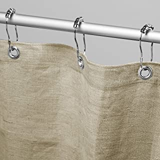 """product image for Bean Products Hemp Shower Curtain Size: 70"""" x 74"""""""