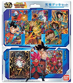 Dragon Ball Super Heroes Ultimate Deck Set Bandai: Amazon.es ...