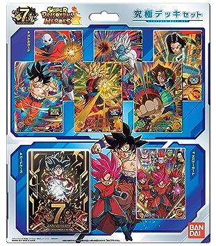 Dragon Ball Super Heroes Ultimate Deck Set Bandai: Amazon.es ...