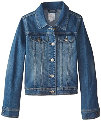 Amazon.com: The Children's Place Girls' Denim Jacket: Clothing
