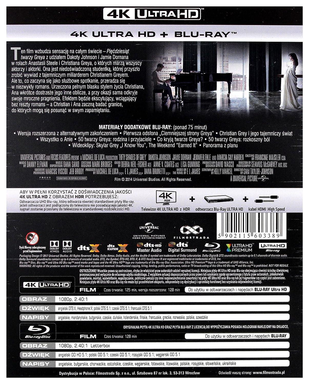 Amazon.com: Fifty Shades of Grey [Blu-Ray]: Charlie Hunnam, Dakota Johnson, Jamie Dornan, Jennifer Ehle, Eloise Mumford, Victor Rasuk, Luke Grimes, ...