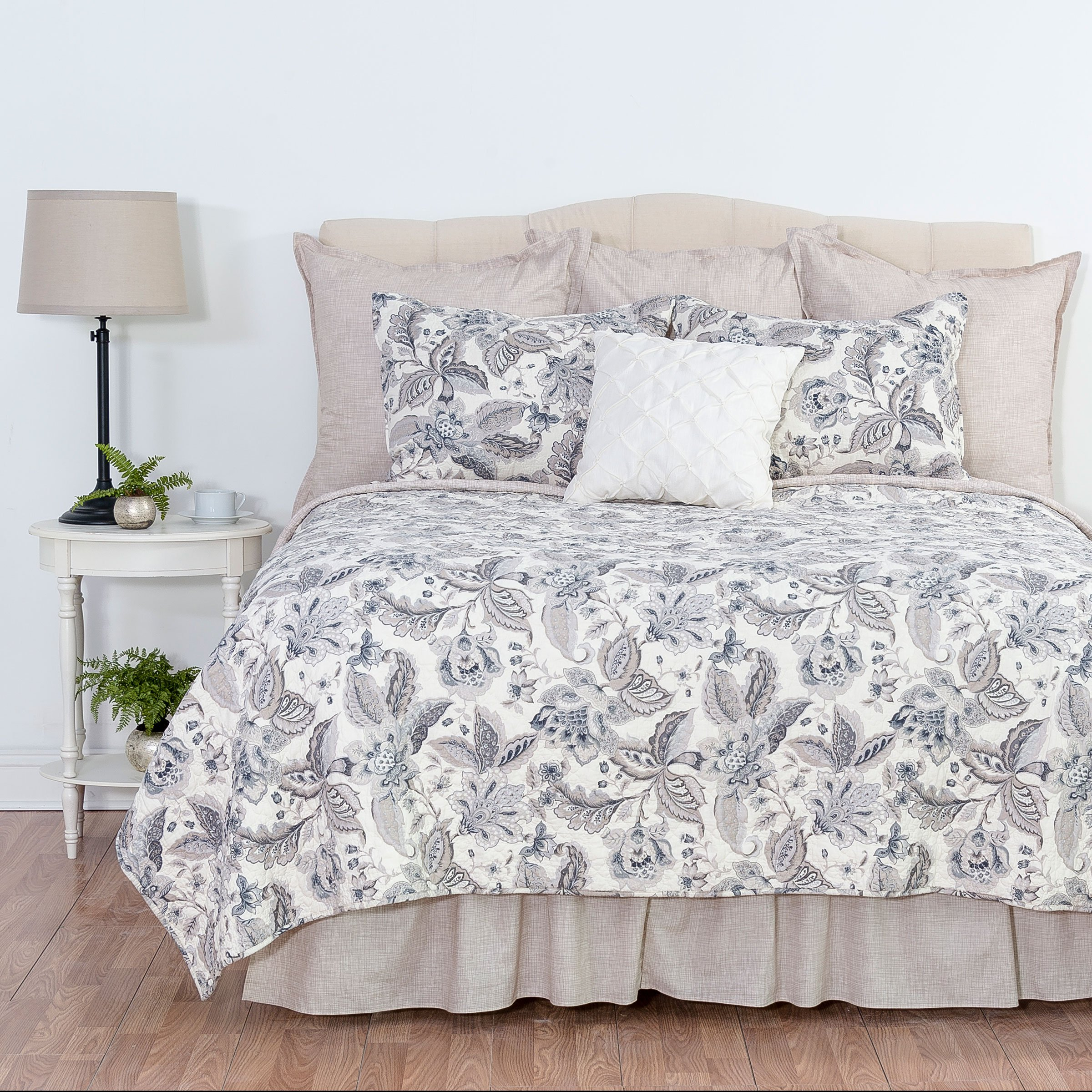 Aurelia King 3 Piece Quilt Set by C&F Home
